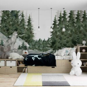 forest wallpaper wallmural