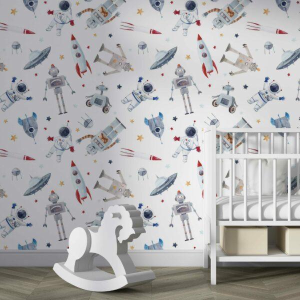 atronaut kids wallpaper