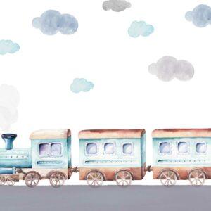 train kids wallpaper