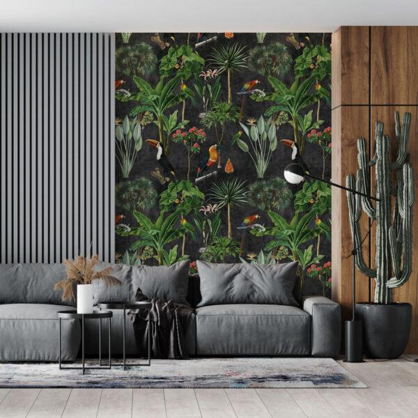 jungle tropic wallpaper