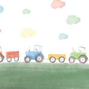 tractor kid wallpaper