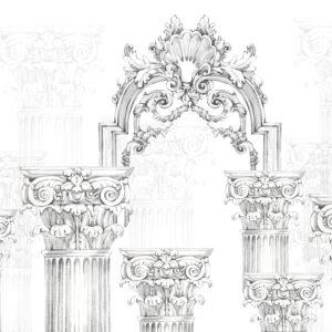 greek ruins wallpaper