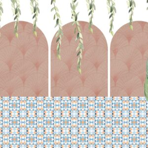 arcs and trees wallpaper
