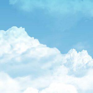 sky clouds wallpaper wallmural