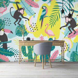 animals shapes wallpaper