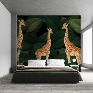 giraffes wallpaper