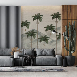 Colombian palms wallpaper