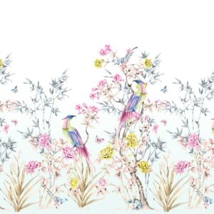 flowers and birds wallpaper