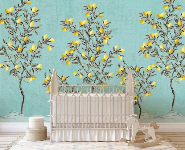 lemon trees wallpaper