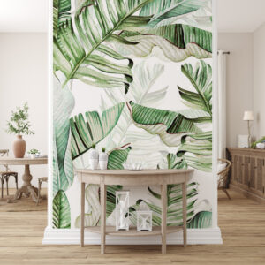 leaves wallpaper
