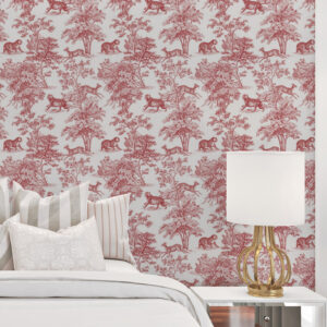 toile wallpaper